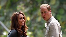 Oben-ohne-Grüße an die Royals: Kate nimmt's mit Humor