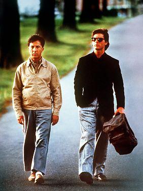 Als Autist Raymond gewann Dustin Hoffman einen Oscar für den besten Hauptdarsteller.