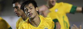 Siegtreffer in einem schwachen Spiel: Brasiliens Neymar.