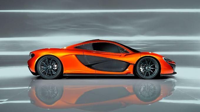 Die Studie zeigt, wo die Reise für den neuen Supersportwagen P1 hingehen könnte.