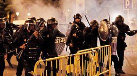 Verletzte in Madrid: Proteste gegen Sparkurs eskalieren