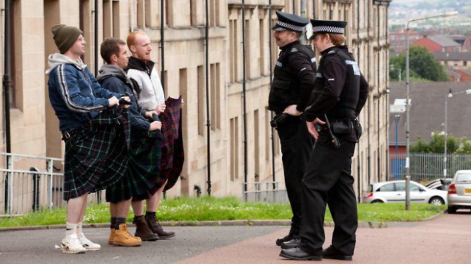 Was trägt der Schotte unter seinem Kilt?