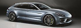Porsche zeigt in Paris die Studie eines möglichen Panamera-Kombis.