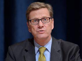 Außenminister Guido Westerwelle wollte das Land atomwaffenfrei machen.