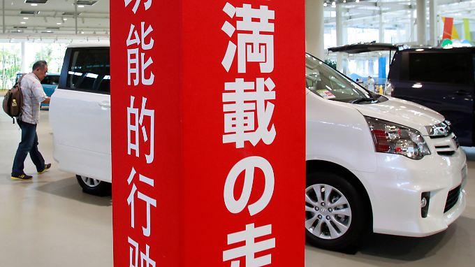 Toyota leidet unter Absatzschwäche.