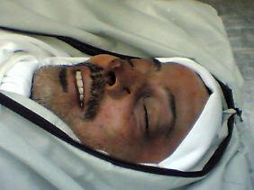 Mahmud al-Mabhuh wurde von seinen Mördern erstickt.