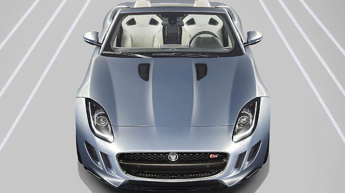 Der Jaguar F-Type feiert auf dem Pariser Autosalon Weltpremiere (29.9 - 14.10).
