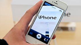 Sehr gut schnitten Kamera- und Videofunktion des iPhones ab.