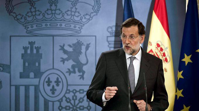 Spaniens Premierminister Mariano Rajoy: Das Land will offenbar nun doch komplett unter den Rettungsschirm schlüpfen.