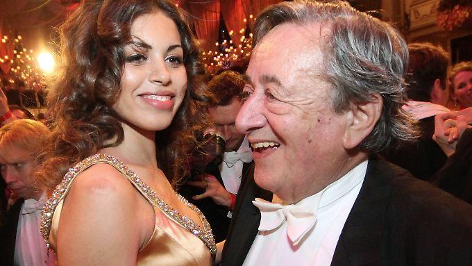 """Karima """"Ruby"""" El Mahroug will Richard """"Mörtel"""" Lugner noch einmal zum Wiener Opernball begleiten."""