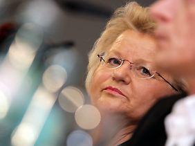 Die Drogenbeauftragte Mechthild Dyckmans, überzeugt.