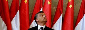"""Ungarns Regierungschef Orban hält einen Eurobeitritt seines Landes für """"unverantwortlich""""."""