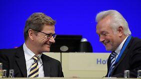 Westerwelle und Kubicki verbindet nicht gerade das Band der Sympathie sondern eher das eines Zweckbündnisses.