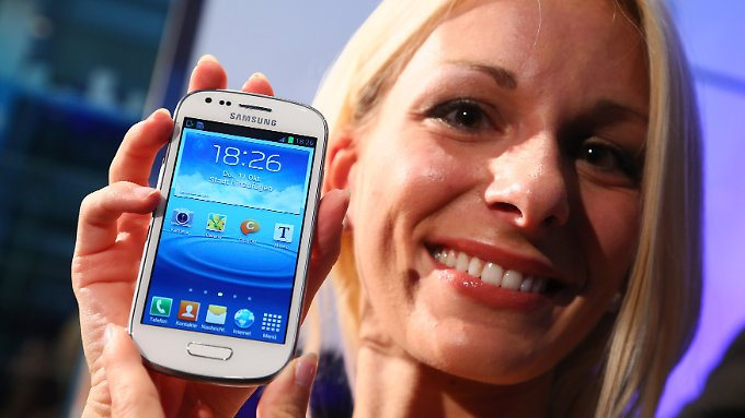 Angriff auf Dauerkonkurrent Apple: Samsung präsentiert Galaxy S3 Mini