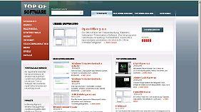 Top-Software.de wirkt auf den ersten Blick sehr seriös.