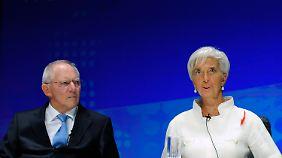Mehr Zeit für Griechenland?: Lagarde und Schäuble über Kreuz