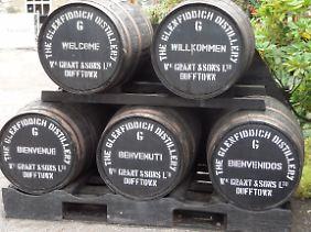 Glenfiddich ist der meistverkaufte Single Malt der Welt.