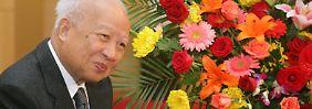 Norodom Sihanuk starb nach langer Krankheit.