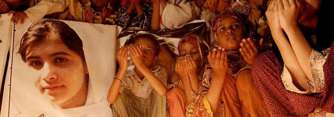 Malala wird in ihrer Heimat verehrt wie eine Heilige.