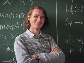 Er wird bald fast gleichaltrige Studenten das Fürchten lehren: Peter Scholze.