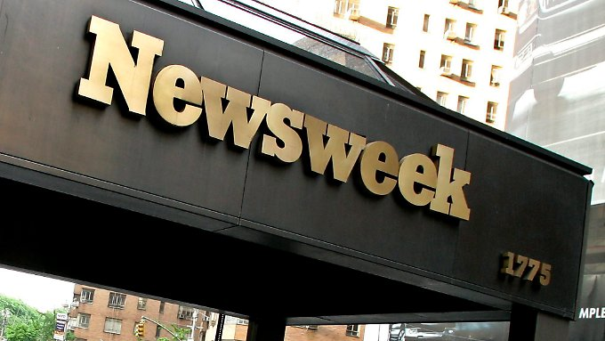 "Das ""Newsweek""-Hauptquartier in New York."