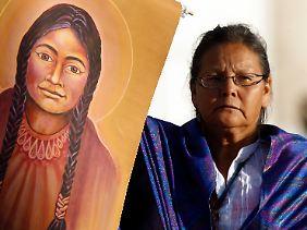 Kateri Tekakwitha ist die erste Indianerin, die heiliggesprochen wird.