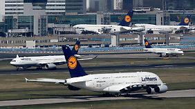 Fliegen im Stundentakt: Lufthansa testet neue Flugpläne