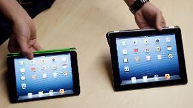 """Dünn wie ein Bleistift: """"Das ist das iPad Mini"""""""