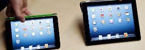 Apple reagiert auf Tablet-Trend: Das iPad schrumpft