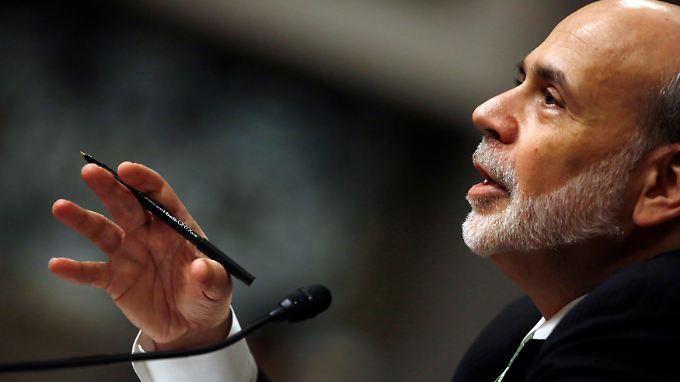 Bernanke zeigt, wo es lang geht.