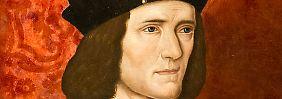 König Richard III. auf einem Gemälde eines unbekannten Malers aus dem 16. Jahrhundert.