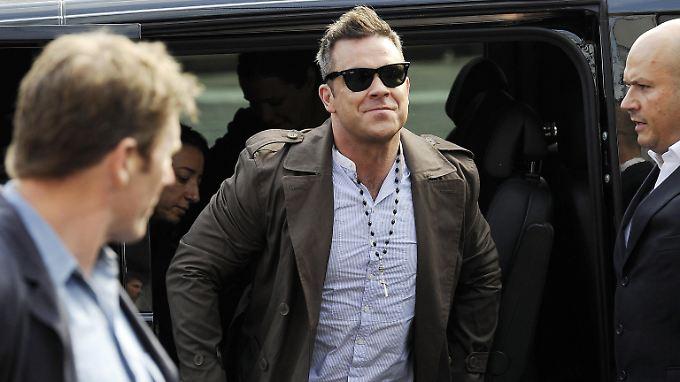 Robbie Williams ist seit kurzem Vater.