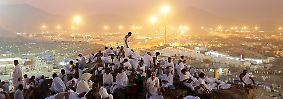 Die Steinigung des Teufels: Hunderttausende Muslime pilgern nach Mekka