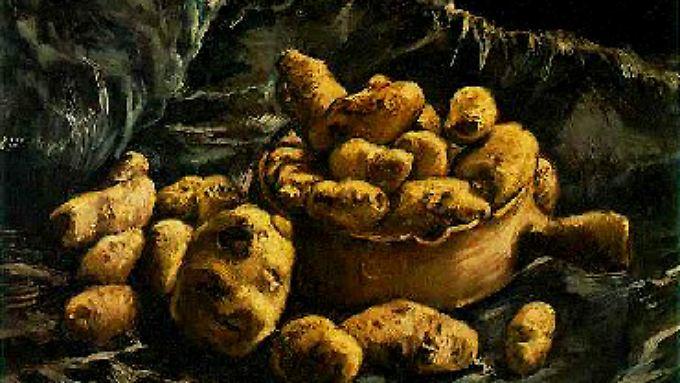 Stilleben mit Tontopf und Kartoffeln (1884): Vincent van Gogh war der erste europäische Maler, der die Knolle bildbeherrschend auf die Leinwand brachte.