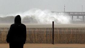 """US-Ostküste im Notstand: """"Sandy"""" könnte Monstersturm werden"""