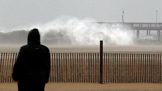 """Angst vor dem """"Frankenstorm"""": Hurrikan bedroht US-Ostküste"""