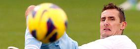 Für Miroslav Klose und seine Mitstreiter hat sich der Trip nach Florenz nicht gelohnt.