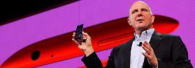 Stolz auf die neue Produktflut: Microsoft-Chef Steve Ballmer