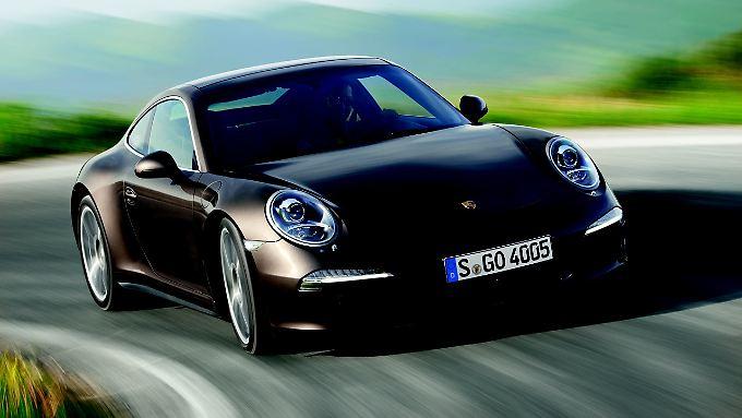 Jetzt mit 4x4-Antrieb: der Porsche 911 Carrera 4S.
