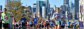 """""""Symbol für die Vitalität und Widerstandskraft der Stadt"""": der New York Marathon."""