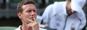 """""""In den vergangenen Wochen habe ich den Eindruck gewonnen, dass mir die nötige Unterstützung und Rückendeckung des Deutschen Tennis Bundes fehlt"""": Patrik Kühnen."""
