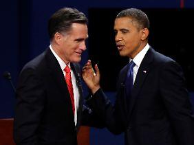 Auch in Sachen Arbeitsmarkt kann er Mitt Romney die Stirn bieten.