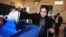 Dutzende Tote bei Parlamentswahl: Iraker wählen trotz Terror