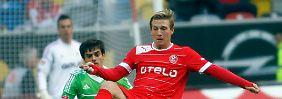 Wirkungslos: Andrej Woronin konnte die Erwartungen in Düsseldorf noch nicht ansatzweise erfüllen.