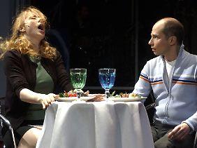 """Das macht sprachlos: Orgasmus im Restaurant (Musical """"Harry und Sally"""" in Berlin)."""