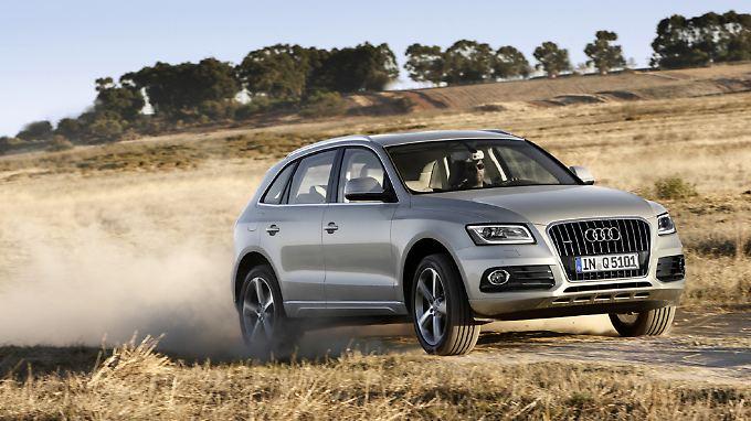 Neben VW gehört Audi zu den Gewinnern im Oktober.