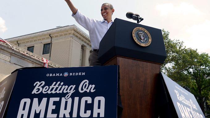 Wetten, dass Barack Obama US-Präsident wird?