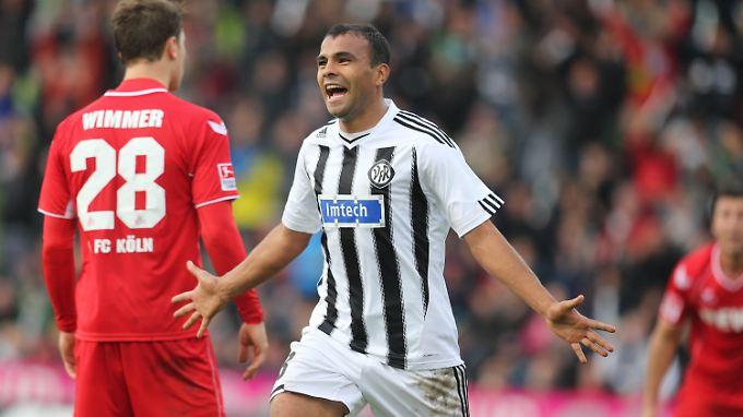 Der VfR Aalen war für den 1. FC Köln zu stark und gewann 2:0.
