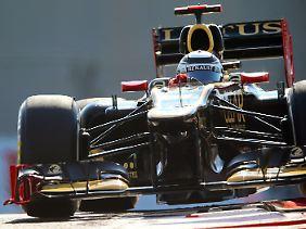 Zurück ganz oben: Kimi Räikkönen feierte in Abu Dhabi seinen ersten Sieg seit seinem Comeback.