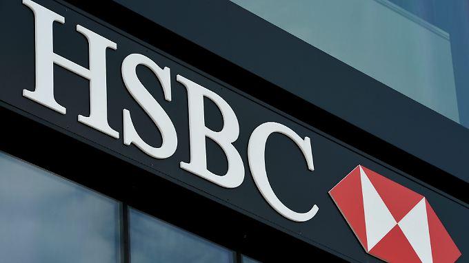 Hohe Rückstellungen für Strafen wegen Geldwäsche lassen den Gewinn der HSBC schrumpfen.